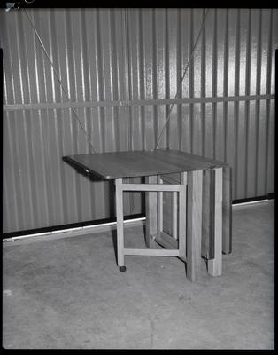 Film negative: McLachlans Furniture, table