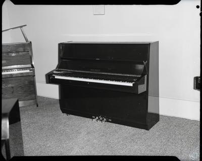 Film negative: Sedley Wells Limited, Yamaha piano