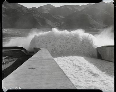 Film negative: International Harvester Company: Benmore Dam, penstocks