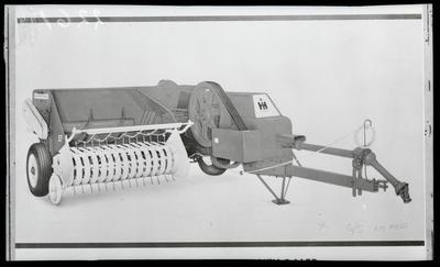 Film negative: International Harvester Company: baler with PTO