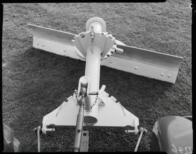Film negative: International Harvester Company: tractor and scraper blade