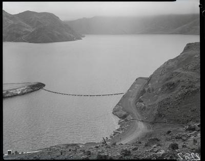 Film negative: International Harvester Company: Benmore Dam, debris