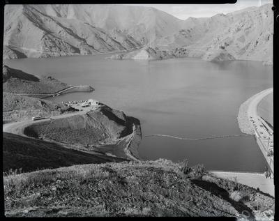 Film negative: International Harvester Company: Benmore Dam, lake filling