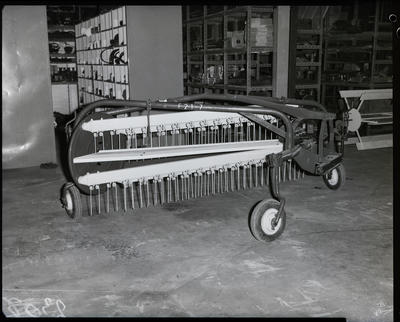 Film negative: International Harvester Company: side rake