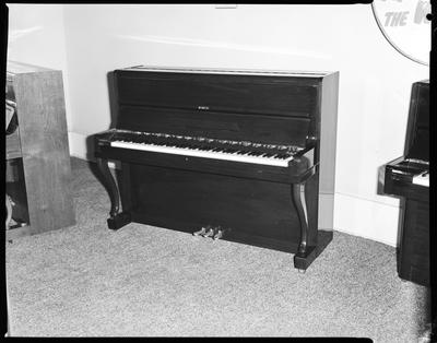 Film negative: Sedley Wells Limited, upright piano