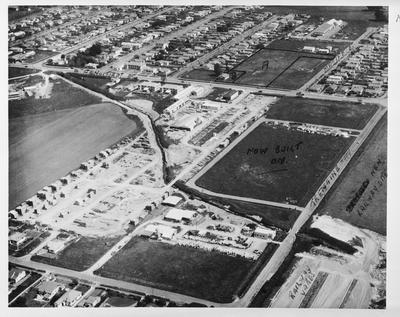 Film negative: International Harvester Company: aerial view
