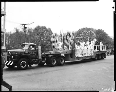 Film negative: International Harvester Company: float for a parade