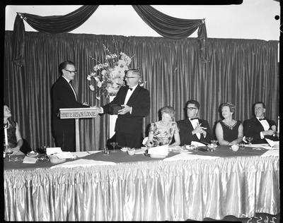 Film negative: International Harvester Company: dinner for Mr Mathieson