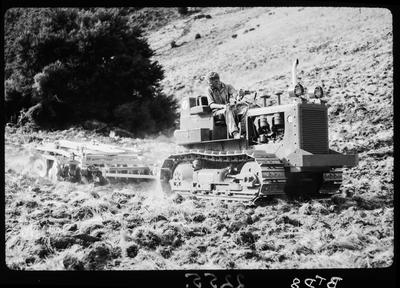 Film negative: International Harvester Company: BTD8 tractor