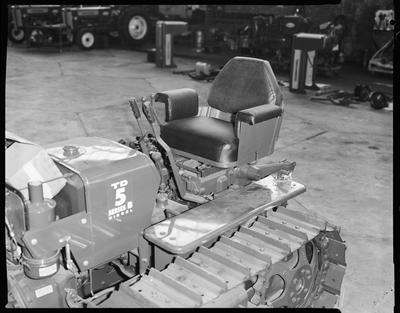 Film negative: International Harvester Company: TD5 tractor seat