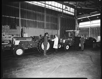 Film negative: International Harvester Company: visit by Mr Burnside and Mr Wrath