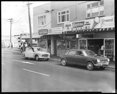 Film negative: Linwood Avenue dairy