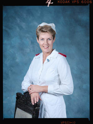 Negative: Ms Randell Nurse Portrait