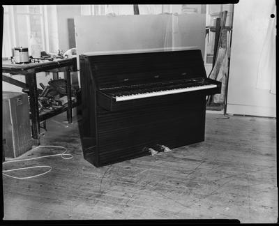 Film negative: Sedley Wells Limited, piano accordion