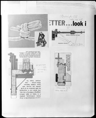 Film negative: International Harvester Company: copies of balers