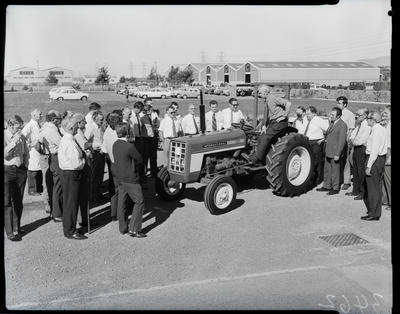 Film negative: International Harvester Company: 430 baler and forager configuration