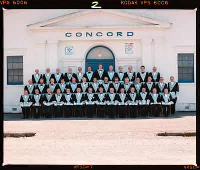 Negative: Concord Lodge Freemasons Group