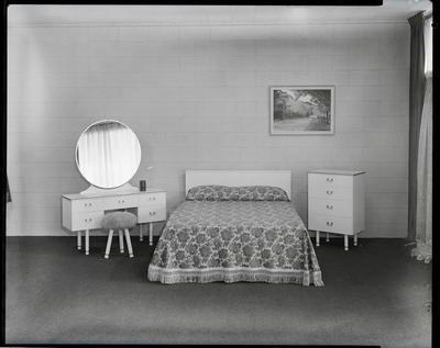 Film negative: Arrow Furniture, bedroom suite
