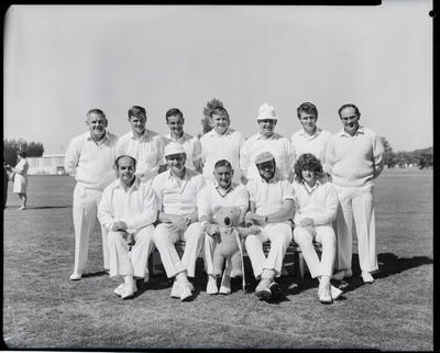 Film negative: Transport Board Cricket Tournament, 1972