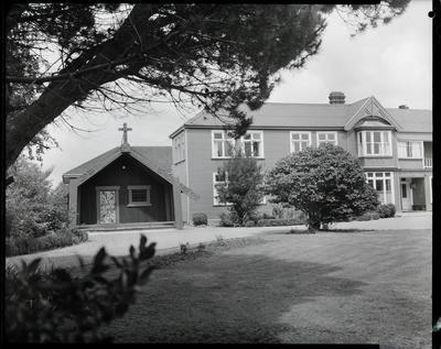 Film negative: Te Wai Pounamu College, building