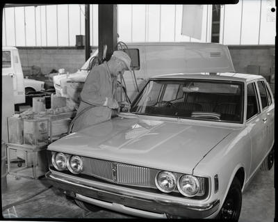 Film negative: Atlas Copco Limited, polishing car paint