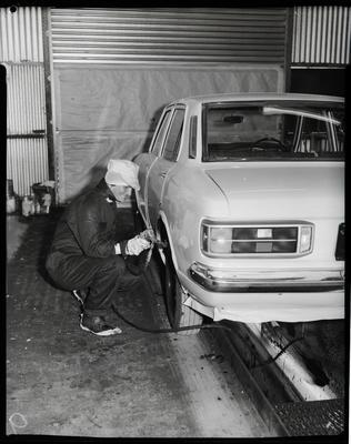 Film negative: Atlas Copco Limited, compression driven tyre wrench