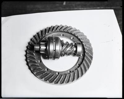 Film negative: International Harvester Company: crown wheel and pinion