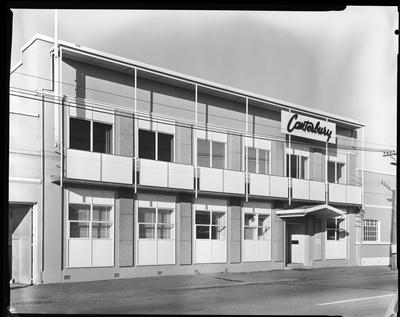 Film negative: Lane Walker and Rudkin, office building