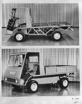 Film negative: International Harvester Company: WUT truck