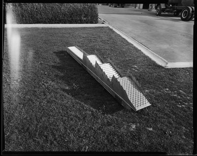 Film negative: International Harvester Company: stepped grating