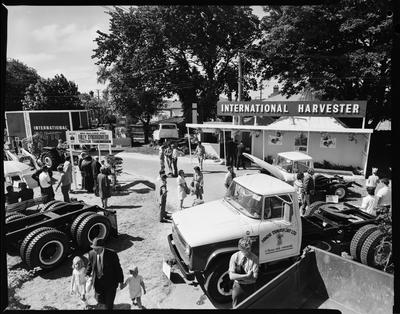 Film negative: International Harvester Company: Agricultural Show truck section