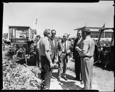 Film negative: International Harvester Company: stand at the Agricultural Show