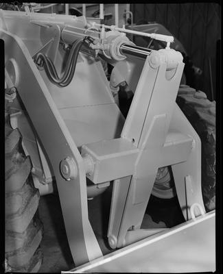 Film negative: International Harvester Company: bucket linkage and power