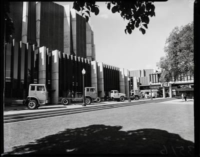 Film negative: International Harvester Company: truck launch, Town Hall