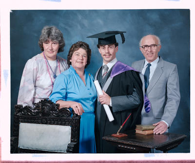 Negative: Mr Stoove Graduate and Family