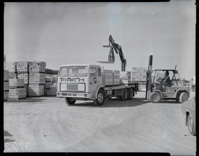 Film negative: Firth Concrete, block truck