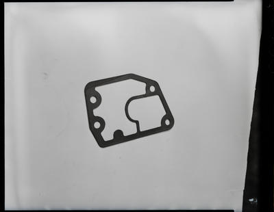 Film negative: International Harvester Company: damaged part and gasket