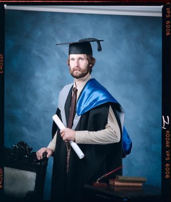 Negative: Mr Collingwood Graduate