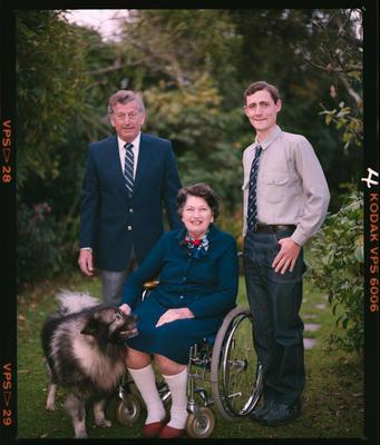 Negative: Langford Family Portrait