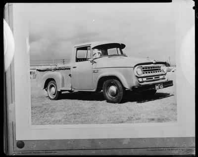 Film negative: International Harvester Company: c-line ute