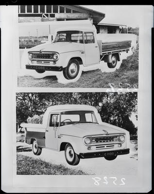Film negative: International Harvester Company: c-line truck