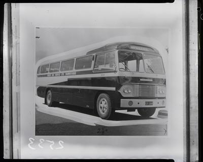 Film negative: International Harvester Company: Whites bus, Dannevirke