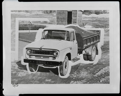 Film negative: International Harvester Company: c-line tip-truck