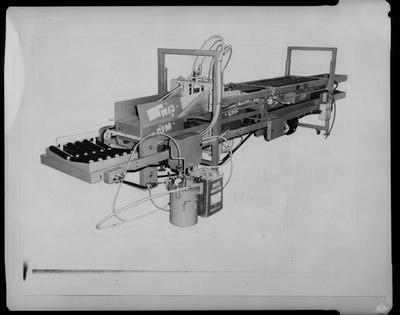 Film negative: Gilbert Lodge Machines, packaging machine