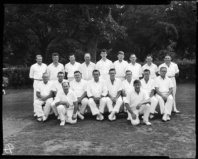 Film negative: Auckland Watersiders, cricket teams