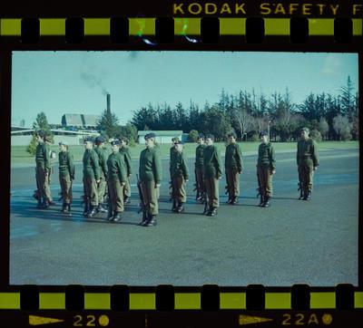 Negative: Burnham Camp Female Soldiers