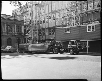 Film negative: International Harvester Company: Durhams Trucks