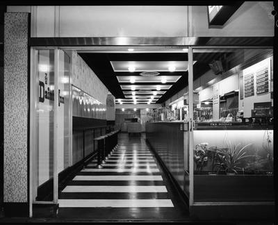 Film negative: Dainty Inn Milk Bar, High Street