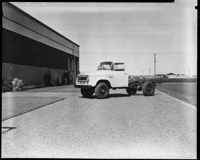 Film negative: International Harvester Company: International C1300 cab