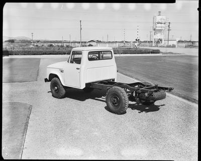 Film negative: International Harvester Company: International C1300 cab